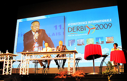 NEDO Chairman and Kanagawa Prefecture Governor at DERBI 2009