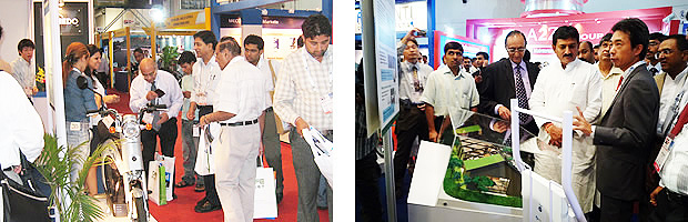 NEDO Participated in India Electricity 2009