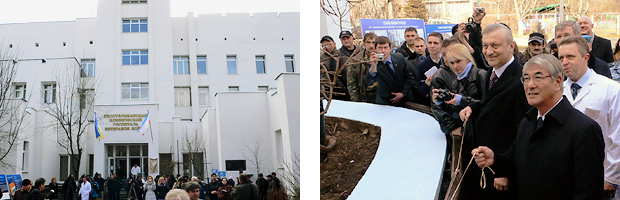 GIS Project inauguration ceremony in Ukraine