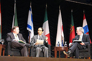 Scene of the Panel Discussion