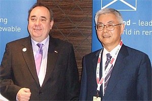 Furukawa and Mr. Alex Salmond