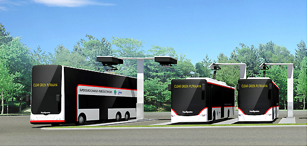 イメージ図:EVバス
