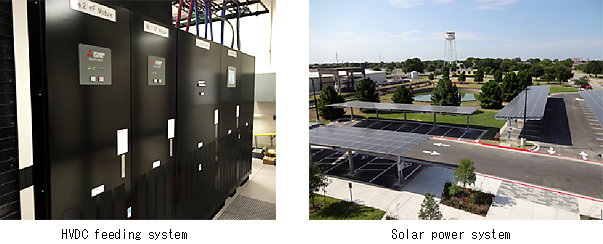 photo: HVDC feeding system / Solar power system