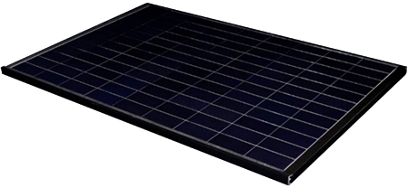 Figure 1; The crystalline silicon solar cell module that achieved the world's highest conversion efficiency