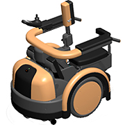 RODEM, the world's first robot wheelchair