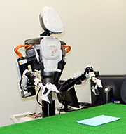 AI-enabled robot for handling soft materials