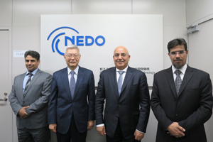 NEDO Chairman, SWCC Governor and people involved
