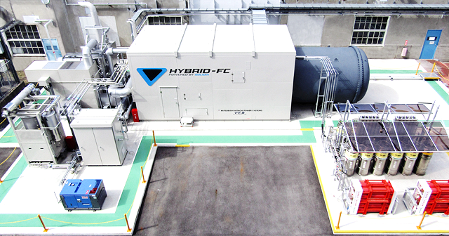 hybrid power generation system's photo
