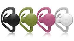 図 片方の耳に装着するイヤフォン