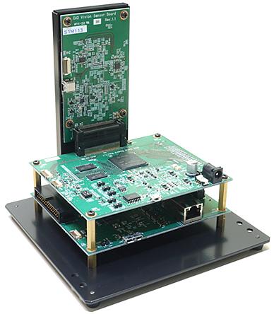 新製品「High Speed Vision Software Development Kit(HSV SDK)」ハードウェアの写真