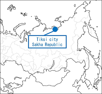 Location for the Demonstration Project (Tiksi in the Sakha Republic)