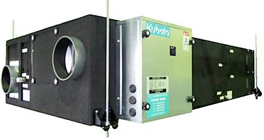 調湿外気処理ユニットの写真