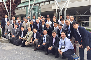 Photo of Japanese participants at the workshop