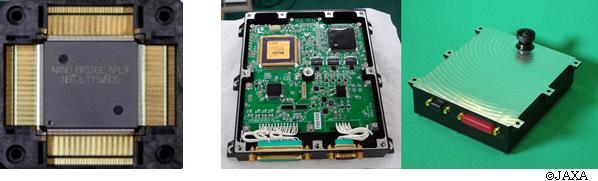 図1 NanoBridge-FPGA  図2 「NanoBridge-FPGA」を実装したカメラモジュール