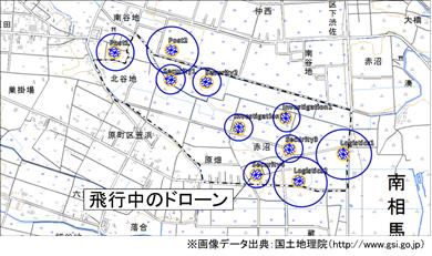運航管理システムにおける飛行状況管理画面を表した図1