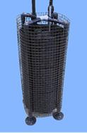 図1 水槽設置向け樹脂製投げ込み式熱交換ユニットを表した図
