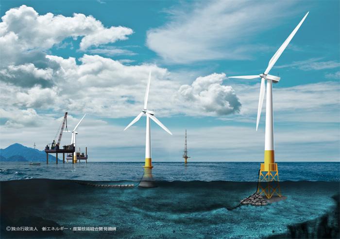 NEDO: 国内初!沖合における洋上風力発電への挑戦―プロジェクト現場 ...